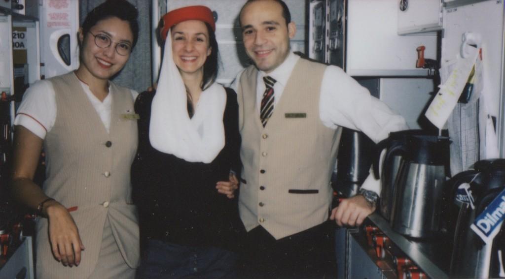Portraits avec le personnelles d'Emirates