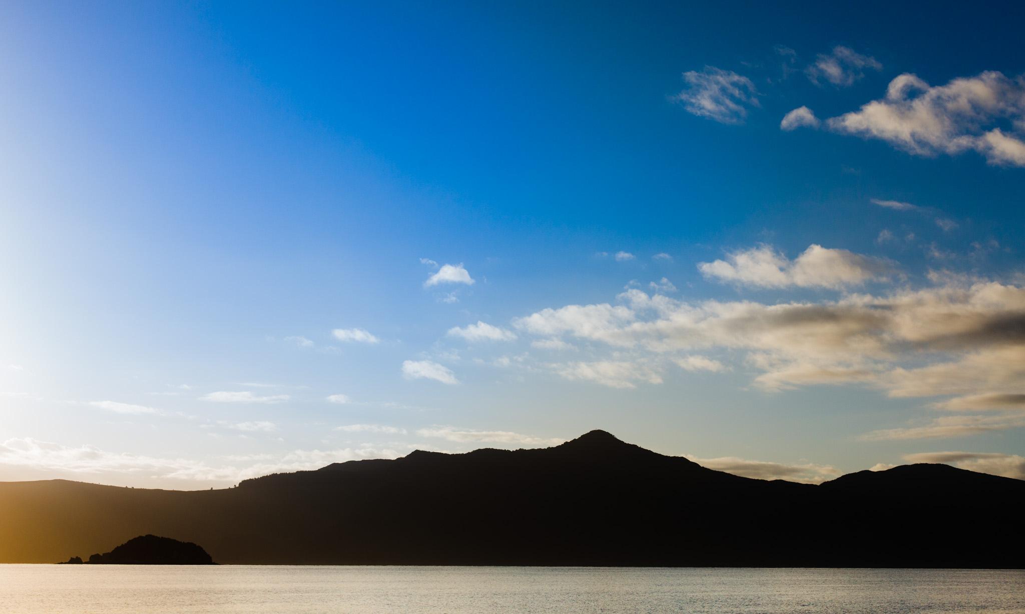 Lever de soleil French Pass-New Zealand-Sarah Galvan Photographe