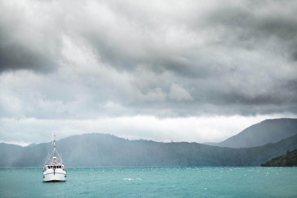 Le bateau de Rod-New Zealand-Sarah Galvan Photographe