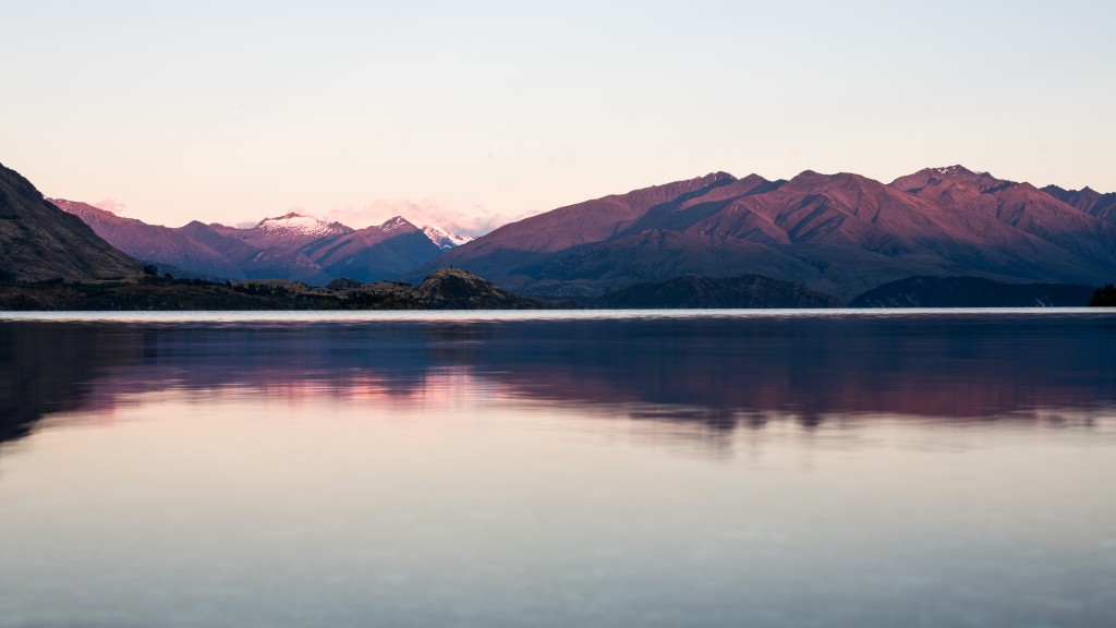 Lake before the sun rise-New Zealand-wanaka-Sarah Galvan Photographe