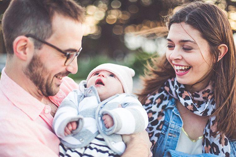 Portrait en famille avec Sean Lucile et Maud en Californie